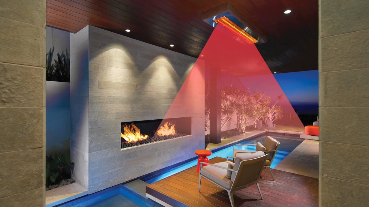 Infrared Heat for Sustainable Year-Round Outdoor Living