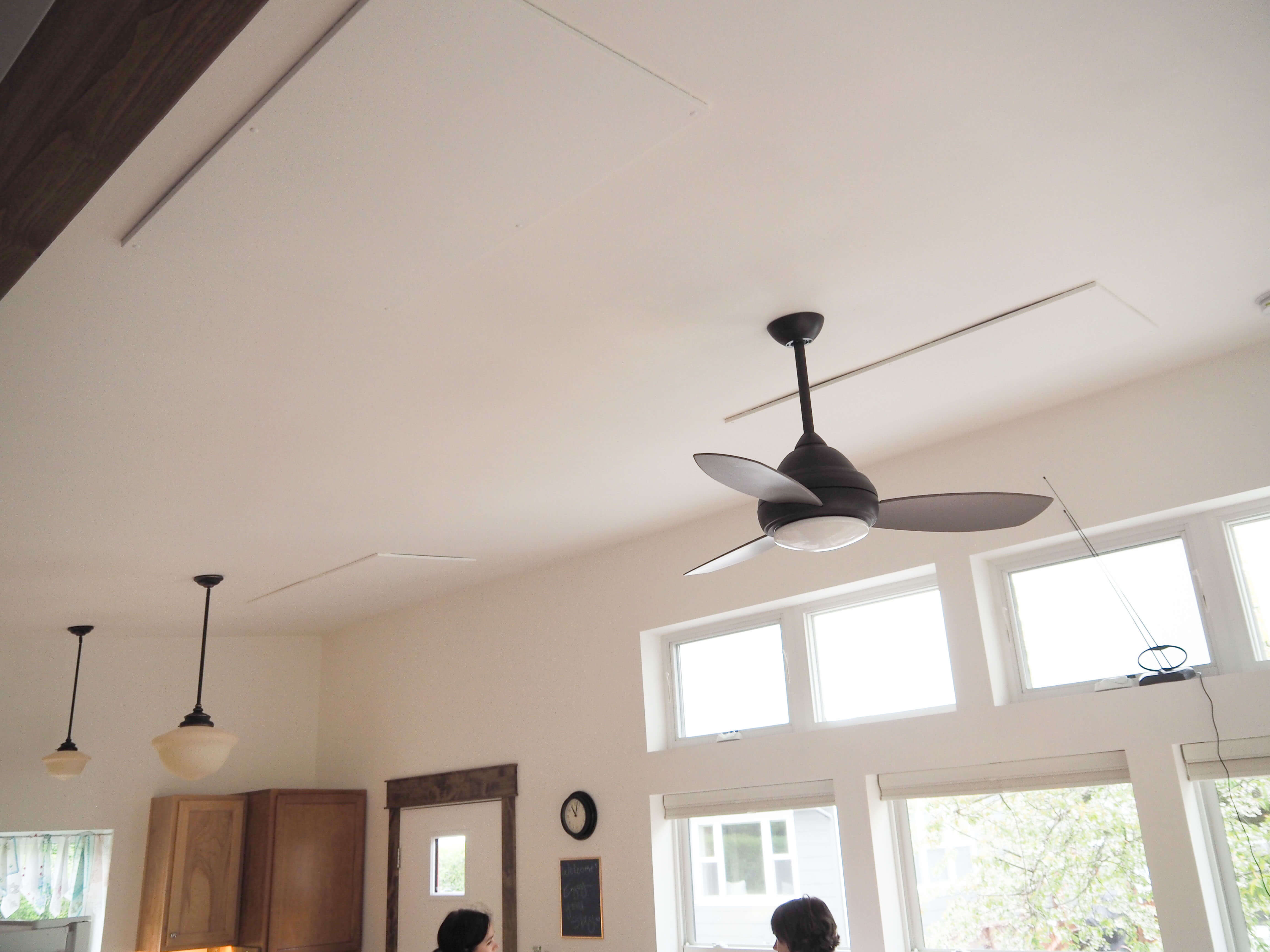 SolaRay Far Infrared Heating Panels in a Cottage