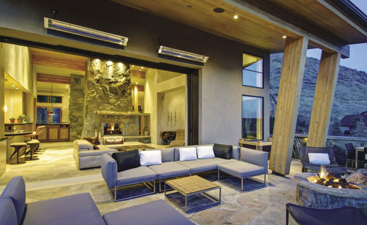 Outdoor Infrared Heaters from Infratech USA