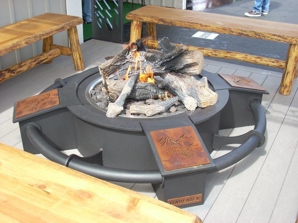 HPC Custom Fire Pit by Maverick