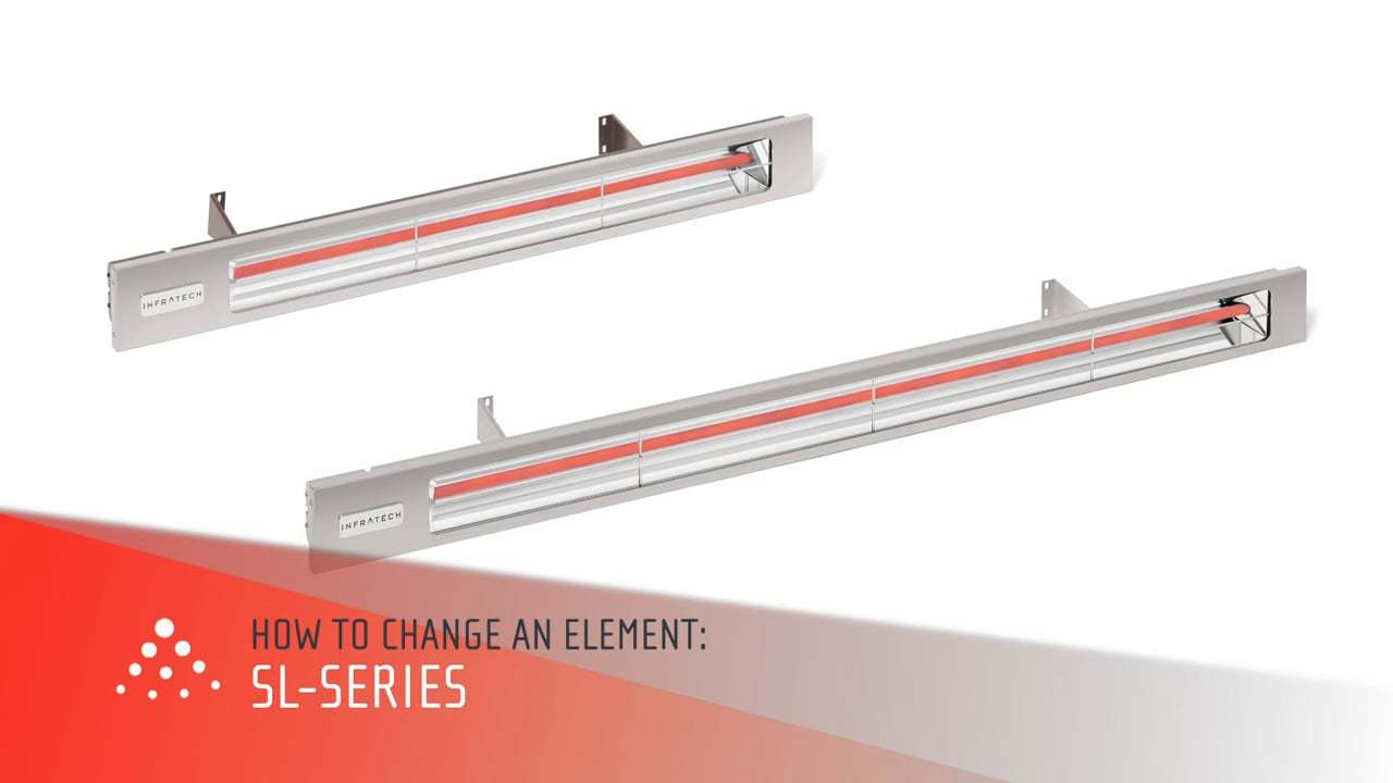 How to Replace An Infratech Heating Element SL-Series