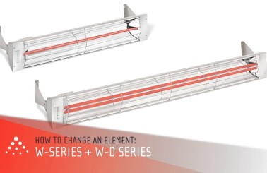 How to Replace an Infratech Heating Element - W and WD-Series