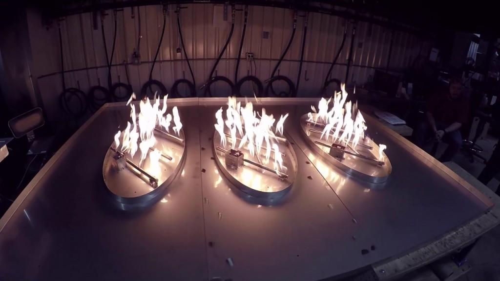 HPC Custom Outdoor Gas Fire Pit