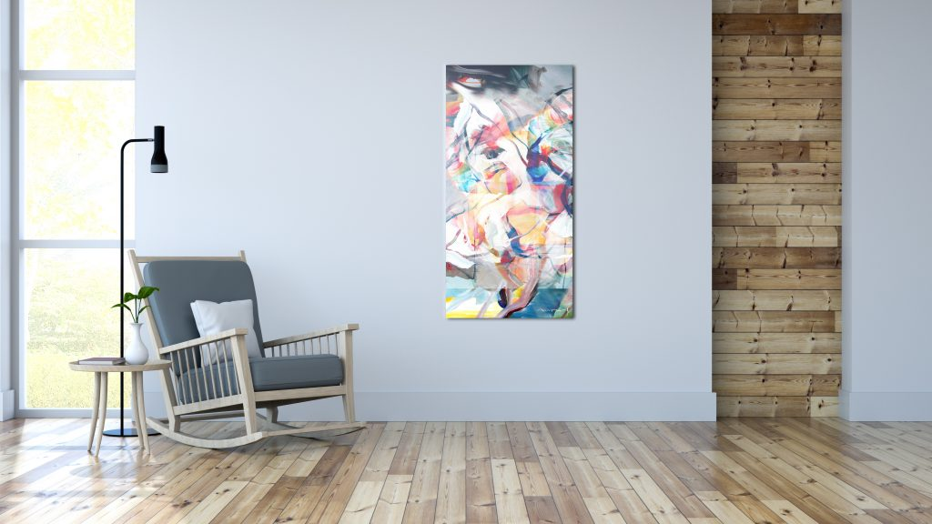 Artwork Glass Infrared Panel