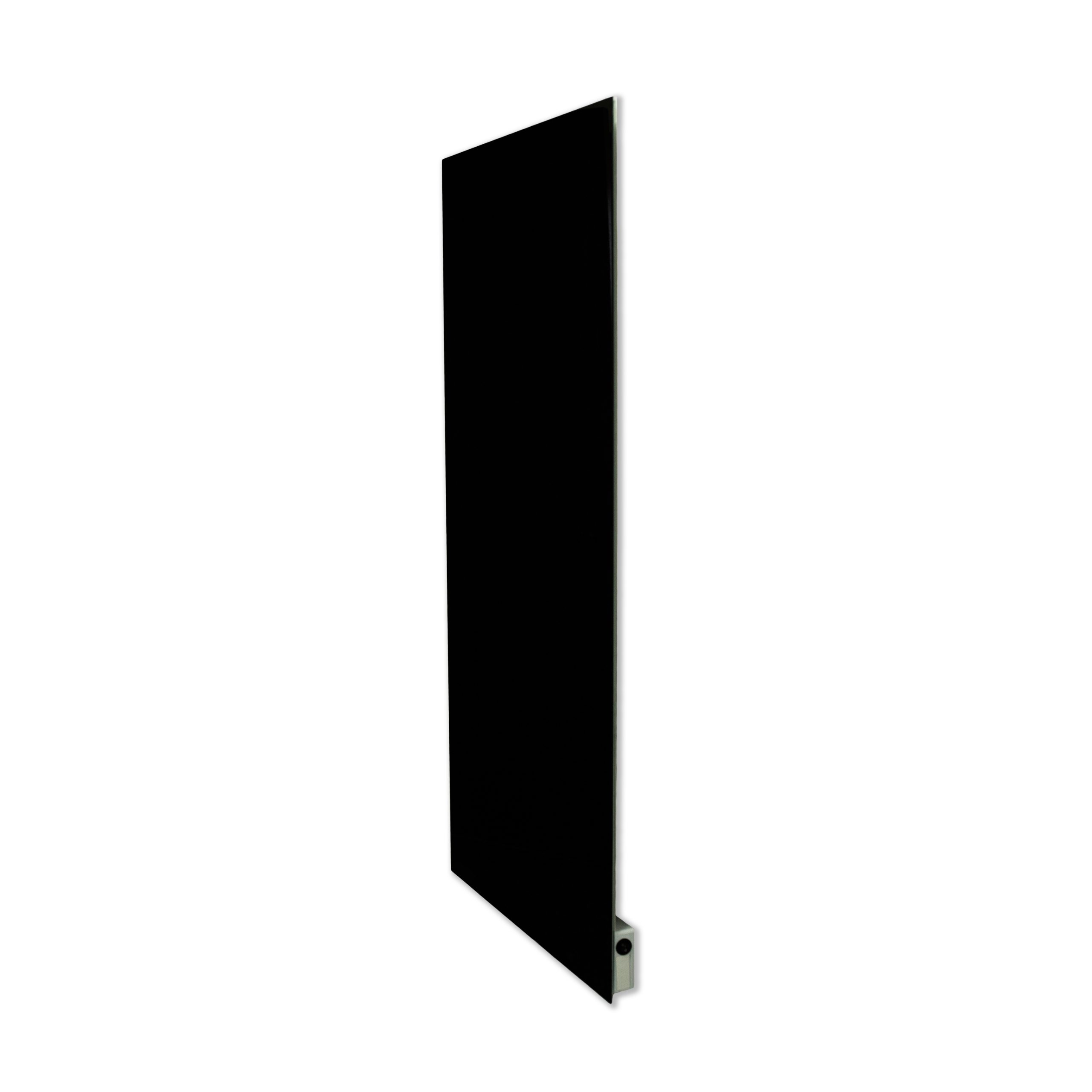 SI Series Glass Far Infrared Panel - Solid Colour Black