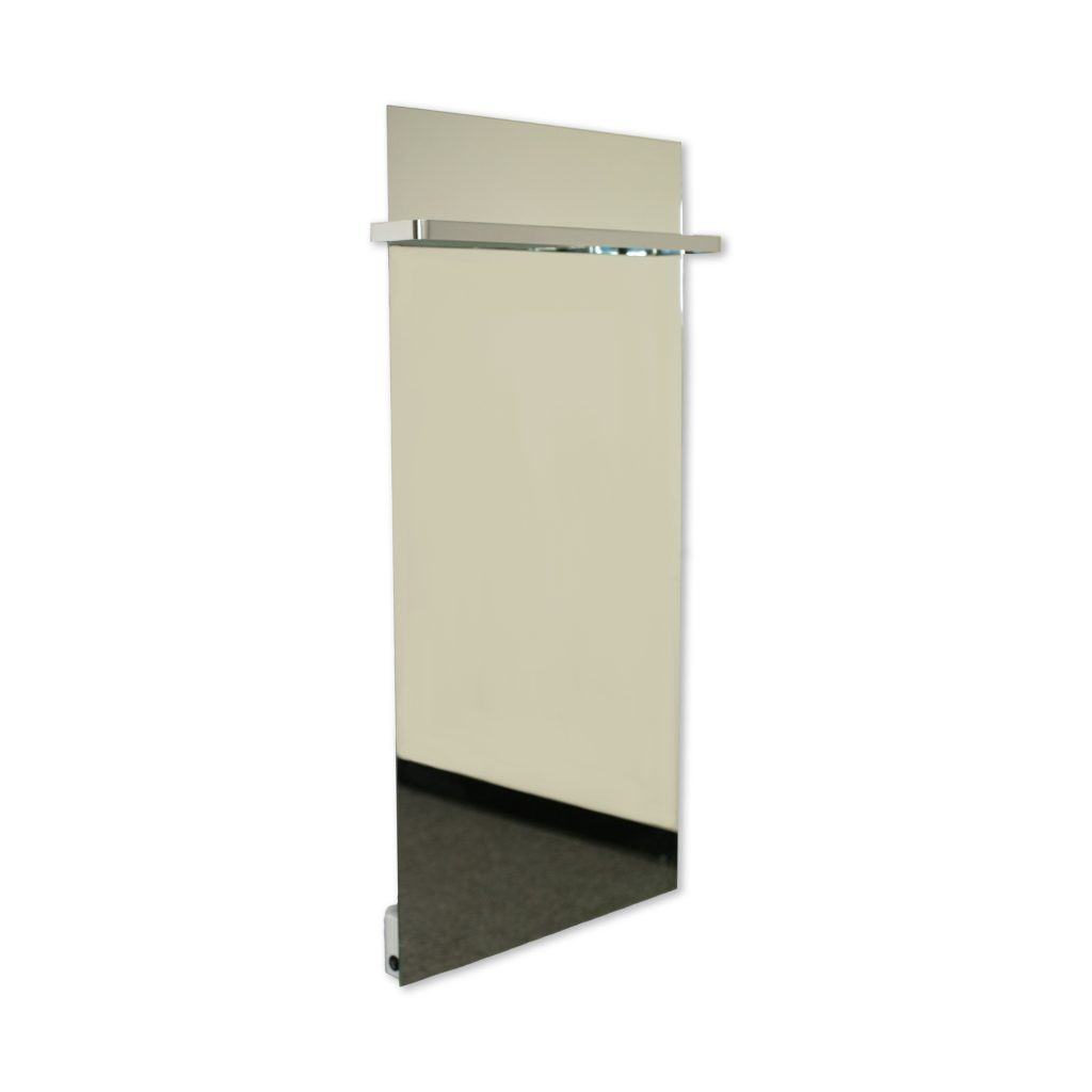 SI Series Glass Far Infrared Panel - Mirror with Towel Rack