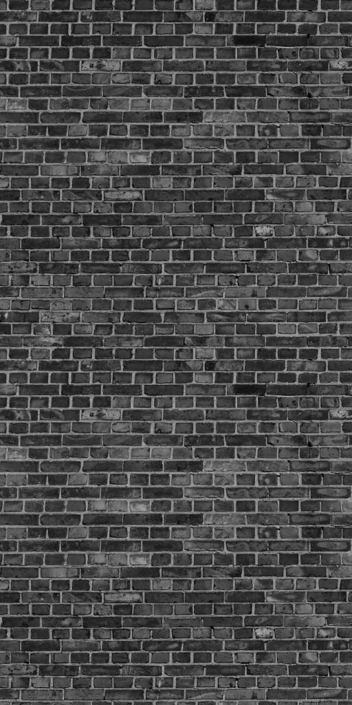 Black Bricks Glass Infrared Panel Image