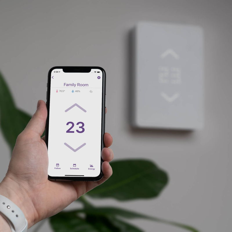 Mysa Thermostat and App